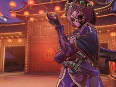 Overwatch's Lunar New Year Event Delivers A Sombra Skin With Six Different Masks