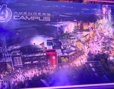 The Marvel Land at Disney California Adventure is Called Avengers Campus - Check Out New Concept Art, Models and More