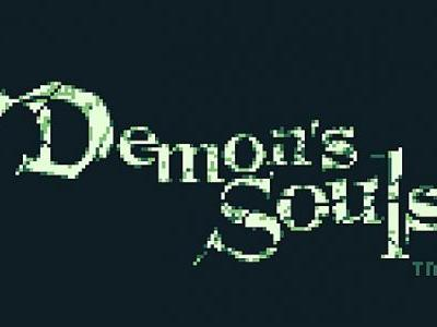 Artist Reimagines Demon's Souls as Game Boy Classic