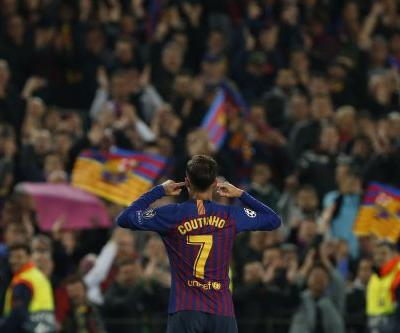 Barcelona fans still upset with Coutinho