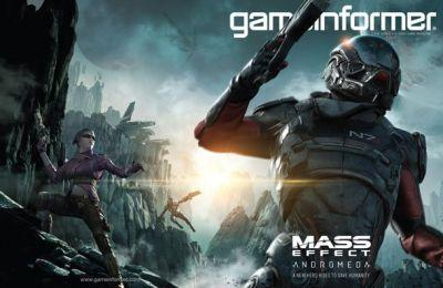 December Cover Revealed - Mass Effect Andromeda