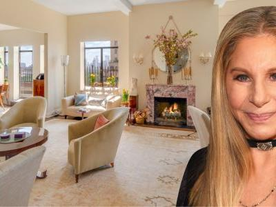 The NYC penthouse that Barbra Streisand lived in for nearly 40 years is on the market for $11.25 million - here's a look inside