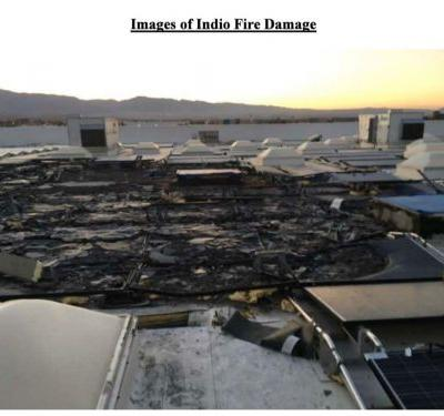 Walmart lawsuit photos reveal scorched roofs and massive damage as it claims Tesla solar panels caught fire at 7 stores