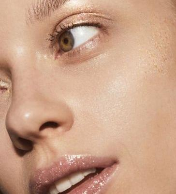 Douse Yourself in Gold Glitter With Milk Makeup's New Face Gloss