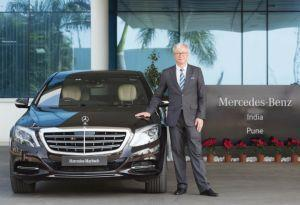 Martin Schwenk Appointed Mercedes-Benz India MD And CEO