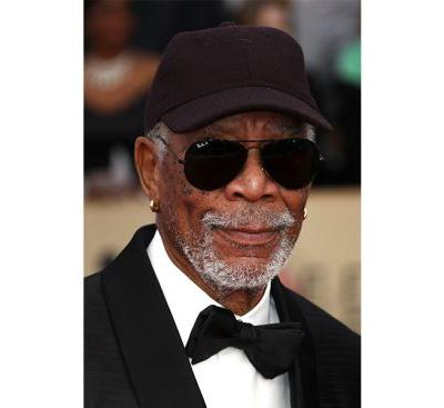 Morgan Freeman Calls Out the SAG Award Statue for Being Gender-Specific