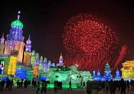 Harbin City's frozen attraction draws tourists from all over