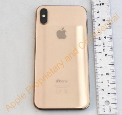 Apple made a gold iPhone X and never released it - here are the photos