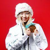 Chloe Kim's Mom Totally Nailed Her Olympic Manicure in Support of Her Daughter