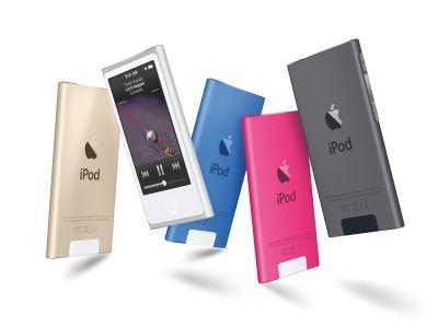 IPod nano, shuffle removed from Apple website and online store
