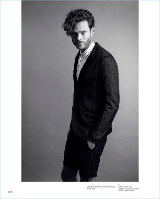 Lead Roles: Mihaly Sepreny Martins Stars in And Men Cover Shoot