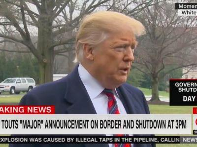 Trump Says Border Wall Has Worked in San Antonio, a City 150 Miles North of the Border That Has No Wall