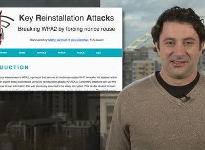 Researcher: Supposedly secure wifi networks vulnerable to 'KRACK' attack