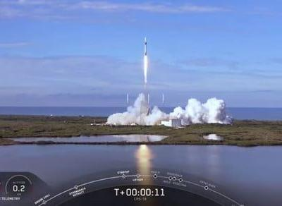 SpaceX's latest resupply launch to the ISS was a success against the odds