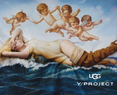 The Y/ Project x UGG Campaign Is An Ode to Roman Gods