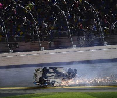 Photos show how Ryan Newman's devastating, fiery 190 mph crash at the Daytona 500 unfolded