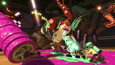 Splatoon 2 Gets a Big Bad Boss With an Itty-Bitty Unicycle