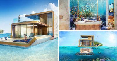 Take a look at these luxury underwater smart homes currently being built off the coast of Dubai