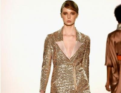Marcel Ostertag keeps it 70s style for New York Fashion Week