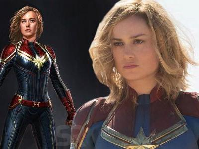 Captain Marvel SDCC 2017 Concept Art Officially Released Online