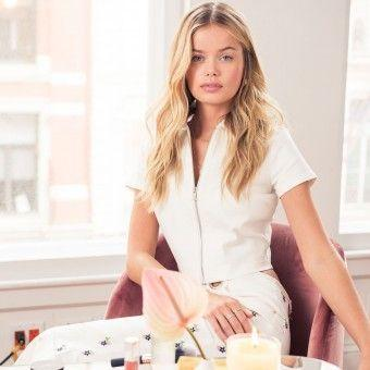 In My Bag: How Frida Aasen Does Her Bronzed Glow and Curled Lashes