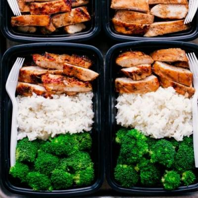 EASY TERIYAKI CHICKEN MEAL PREP