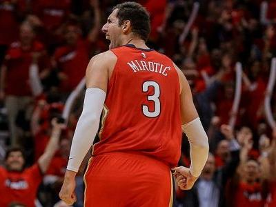 Bulls in the playoffs: Nikola Mirotic can't miss and the Pelicans are up 3-0