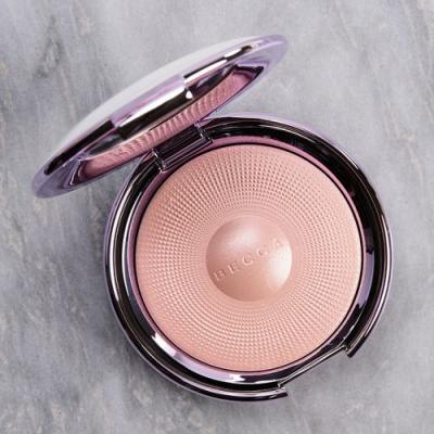 Becca Pure Pearl Pearl Glow Luster Glow Powder Review & Swatches