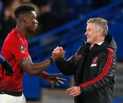 Pogba wants 'happy coach' Solskjaer to stay at Man Utd