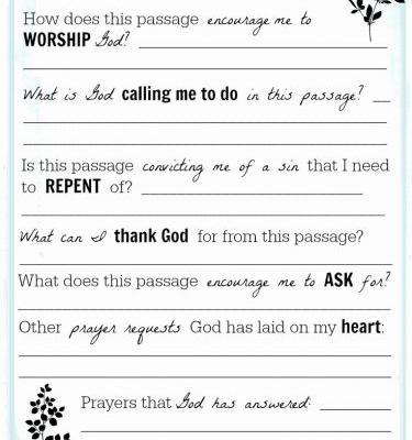 30 New Bible Study Template Download Images