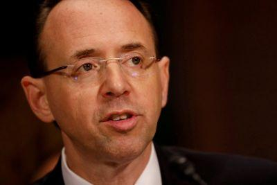 'He was a role model': The deputy attorney general just released his first official comments about Comey's firing