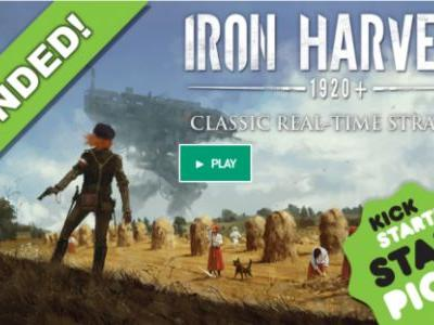 Iron Harvest is Officially the Highest Funded Video Game Kickstarter Campaign in Awhile