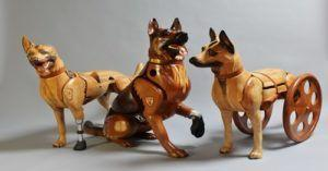 Sculptures Created To Honor Wounded Military Dogs And Those That Worked With Them
