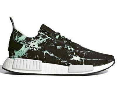 """The adidas NMD R1 Primeknit Receives A """"Green Marble"""" Colorway"""
