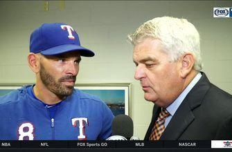 Chris Woodward on Rangers 7-3 loss to Mariners | Rangers Live