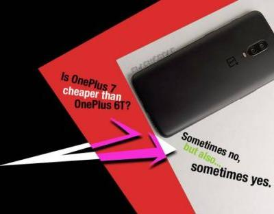 Is OnePlus 7 cheaper than OnePlus 6T?