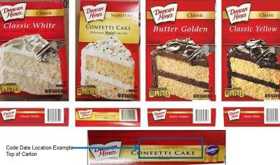 Duncan Hines Recalls 4 Types Of Cake Mix Due To Salmonella Outbreak