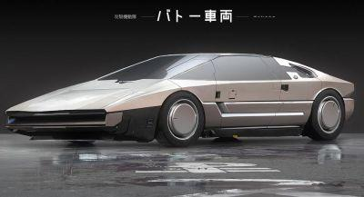 Check Out Some Ghost In The Shell Automotive Concept Art
