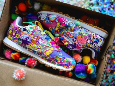 Lisa Frank x Reebok is The '90s Giveaway Of a Lifetime