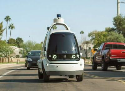 Autonomous pods are now delivering groceries to customers in Arizona