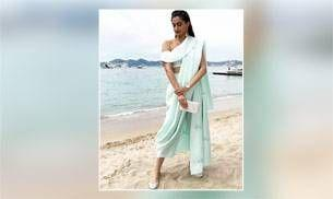 Watch: This is the journey Sonam Kapoor's sea-green Cannes outfit went through