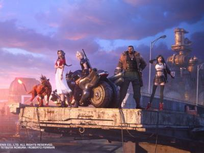 Final Fantasy VII Remake New Visual Art Features Main Characters