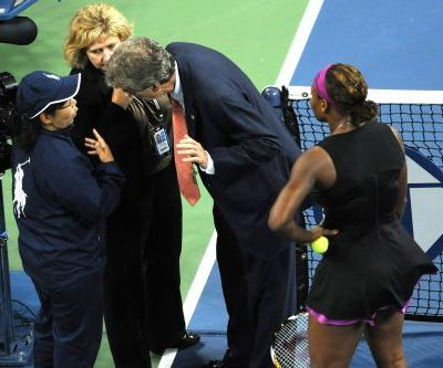 Serena during meltdown knew she'd been down this road before