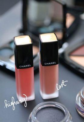 Chanel Highway and Lost, the Two Chanel Rouge Allure Ink Liquid Lipsticks From the Fall 2017 Travel Diary Collection