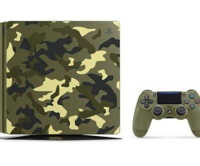 Sony Announces Special 'Call of Duty: WWII' Camo PlayStation 4