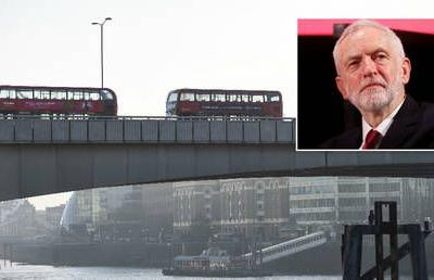Corbyn says terrorists should 'not necessarily' serve full term as parties spat over legislation that allowed jihadi out