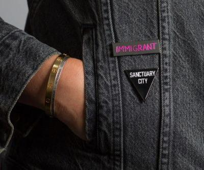 Robert Geller and PINTRILL Join Forces to Create a Pair of Commemorative Pins