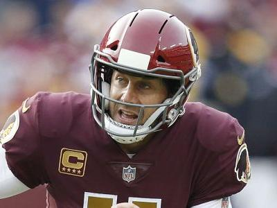 Redskins QB Alex Smith spotted for first time since gruesome leg injury