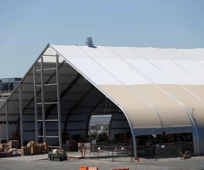 Tesla is reportedly building another tent at its Fremont factory