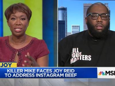 Killer Mike Discusses Black Gun Ownership, Starbucks Arrests On Joy Reid